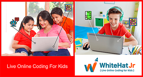 Live Online Coding for Kids | WhiteHat Jr